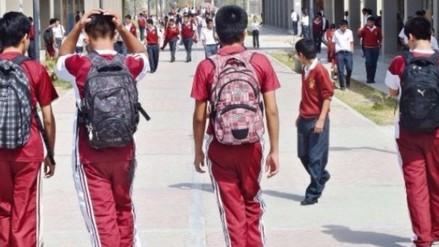 Chiclayo: escolares organizan y arman peleas callejeras