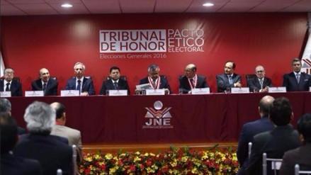 Tribunal de honor: PPK y Fujimori están trasgrediendo Pacto Ético Electoral