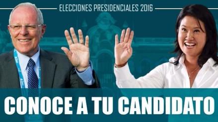 Vota Perú 2016: Conoce a tu candidato rumbo a la segunda vuelta
