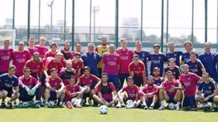 Javier Mascherano: esta foto adelantó su adiós del Barcelona, según medio español