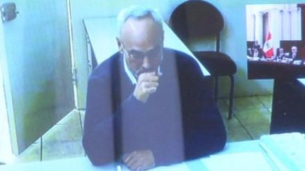 Video: Manuel Burga estuvo a punto de llorar durante audiencia