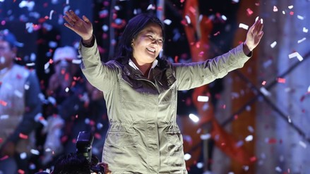 Keiko Fujimori lamenta y rechaza declaraciones de Aguinaga sobre PPK