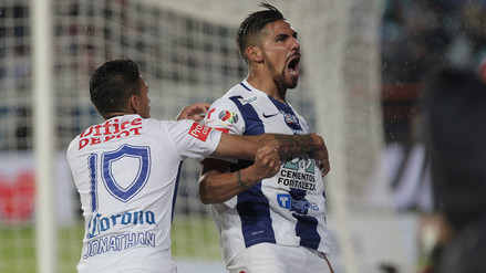 Pachuca ganó 1-0 a Monterrey en ida de final de la Liga MX