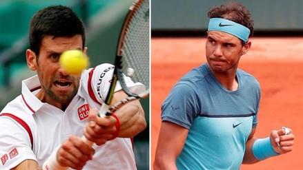 Roland Garros: Rafael Nadal y Novak Djokovic clasificaron a octavos de final