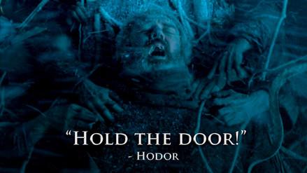 Instagram: Hodor comparte regalo con Bran fuera de Game of Thrones