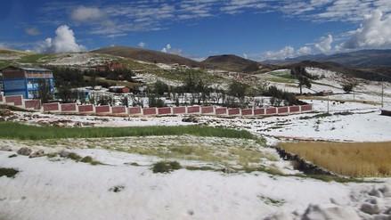 Concepción: más de cien familias afectadas por granizada en Quero