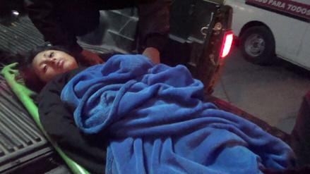 Huancayo: hallan a adolescente ebria y con hipotermia en descampado