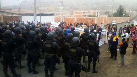 Pobladores rechazan construcción de Mega Puerto de Chancay