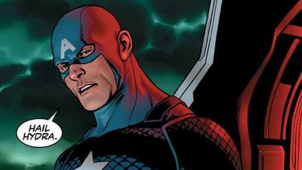 Nuevo cómic revela que Capitán América es un agente de Hydra
