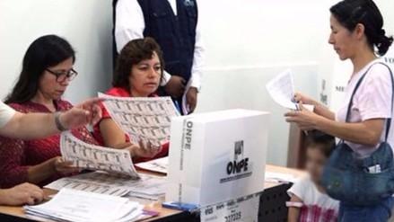 ONPE: Recomendaciones para evitar colas y aglomeraciones el 5 de junio