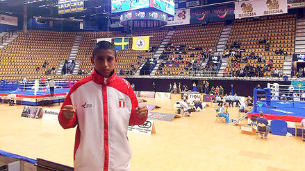 Alex Chávez se coronó campeón mundial de Muay Thai en Suecia