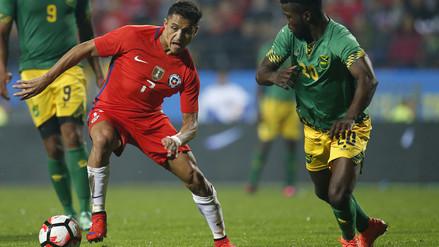 Chile perdió 2-1 con Jamaica a poco de la Copa América Centenario