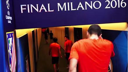 Champions League: Atlético de Madrid se motiva con este video
