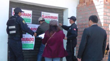 Huancayo: clausuran bares que funcionaban con fachada de bodegas