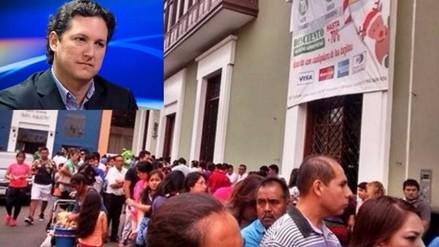 Trujillo: ordenan embargar empresa de congresista electo Daniel Salaverry