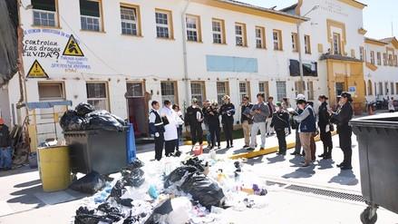 Fiscalía y municipalidad intervienen hospital Carrión por residuos biocontaminantes