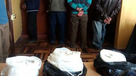 Policía incautó cinco kilos de PBC en Cajabamba