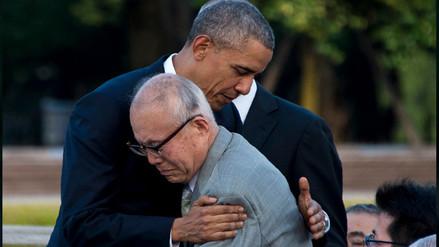 El conmovedor abrazo entre Obama y un sobreviviente de Hiroshima