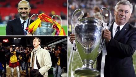 Champions League: los 6 hombres que ganaron la 'Orejona' como jugador y DT