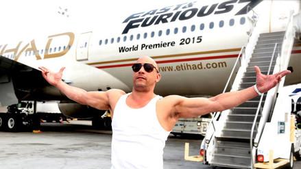 Así cambió el rostro de Vin Diesel a lo largo de