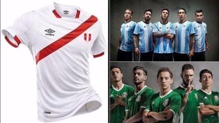 Copa América: conoce las camisetas que usarán los países en el certamen