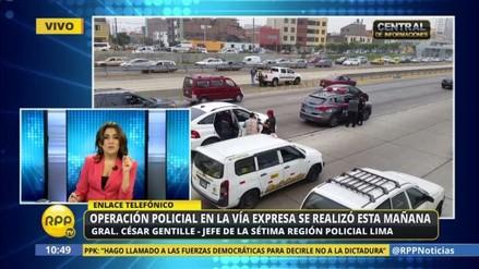 ¿Por qué la Policía ocupó la Vía Expresa y causó una alarma ciudadana?