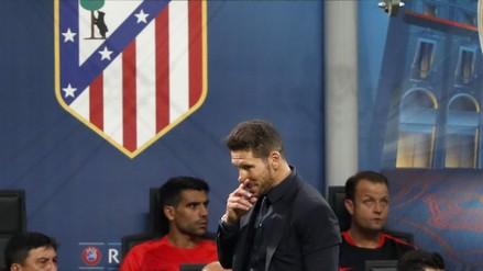 Diego Simeone puso en duda su continuidad en Atlético de Madrid