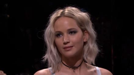 """Jennifer Lawrence confiesa haberse medicado antes de grabar escena de """"Los Juegos del Hambre"""""""