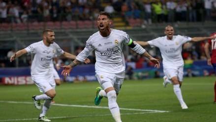 Real Madrid vs. Atlético: Sergio Ramos volvió a marcar en una final