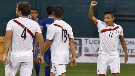 Perú venció 3-1 a El Salvador y quedó listo para la Copa América Centenario