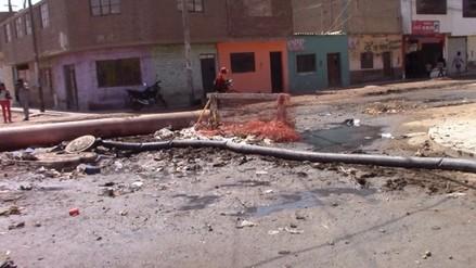 Chiclayo: pobladores de Leonado Ortiz sufren con aguas servidas