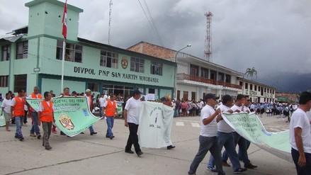 Convocan a juntas vecinales para reforzar seguridad en Moyobamba