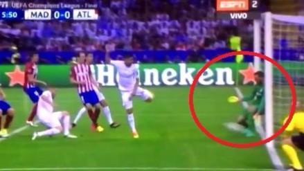 Real Madrid vs. Atlético: Jan Oblak realizó gran atajada con los pies