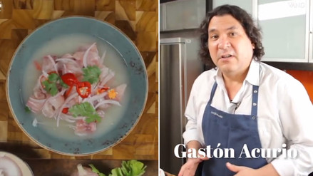 YouTube: ¿Cómo se prepara un cebiche? Gastón Acurio te enseña a hacerlo