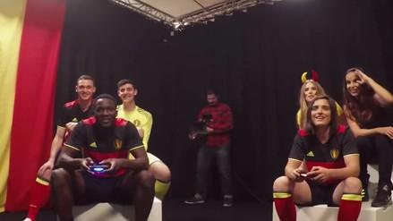 Romelu Lukaku fue víctima de una broma jugando FIFA