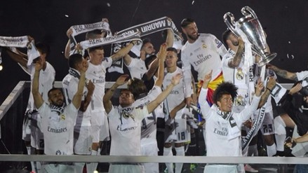 Real Madrid terminó festejos por la Champions en el Santiago Bernabéu