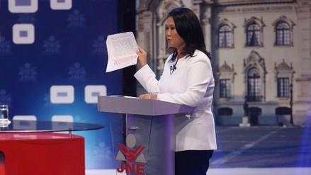 Keiko Fujimori acusó a PPK de entregar lotes de gas