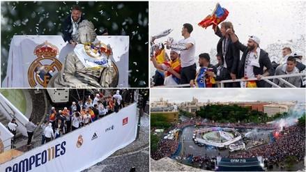 Real Madrid: el festejo tras adjudicarse la undécima Champions League