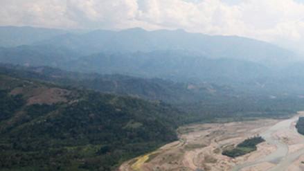 Buscan a once madereros desaparecidos en la zona del Vraem