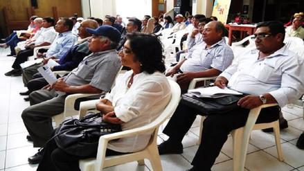 Capacitarán a personal de la junta de usuarios Chancay-Lambayeque