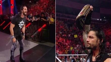 WWE: Seth Rollins se burló de Roman Reigns en plena transmisión de Raw