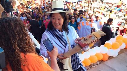 Keiko Fujimori reitera propuesta de duplicar sueldo a maestros