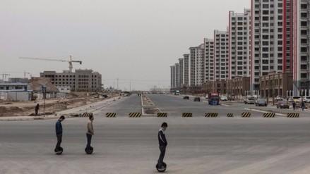 Conoce la increíble ciudad que construyeron en China y que nadie quiere habitar