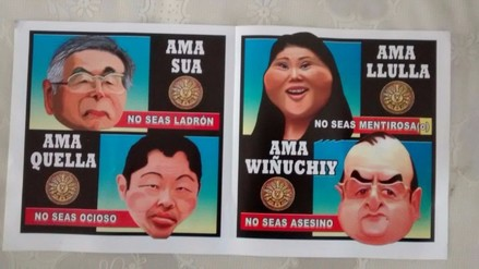 Trujillo: utilizan principios morales incas para no votar por Keiko Fujimori