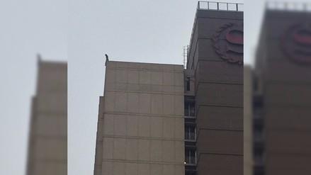 Mujer se suicidó lanzándose desde último piso del hotel Sheraton