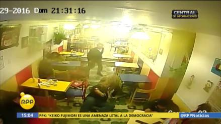 Abaten a delincuente que asaltó pollería en Chorrillos