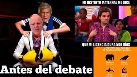 Memes sobre el debate presidencial inundaron Twitter y Facebook