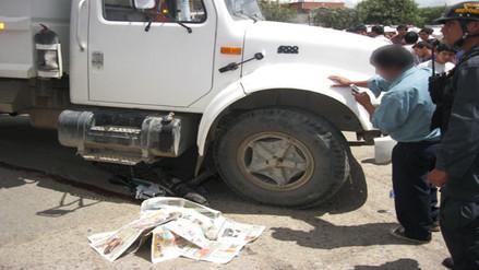 Camión atropelló y mató a sexagenario en Cutervo
