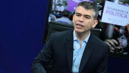 Julio Guzmán saluda apoyo de Verónika Mendoza a PPK