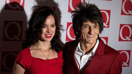 The Rolling Stones: Ronnie Wood es padre de gemelas a los 68 años